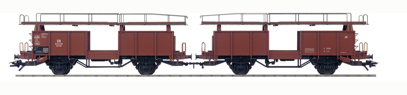 A And M Auto >> Märklin 46131 Bauart Offs 59 (Laaes 541) Autotransportwagen H0 Modellbahn Katalog