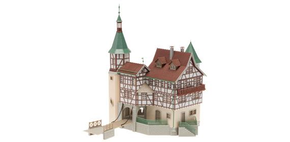 Faller 130385 Jagdschloss Burgen Und Schlösser H0