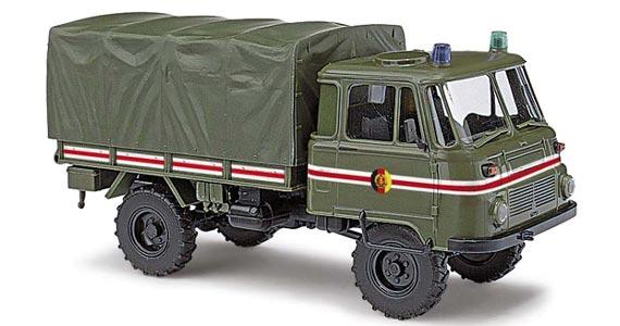 busch 50228 robur lo 2002 milit r fahrzeuge h0 modellbahn. Black Bedroom Furniture Sets. Home Design Ideas