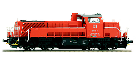 brawa 42707 baureihe 265 diesellok h0 modellbahn katalog. Black Bedroom Furniture Sets. Home Design Ideas
