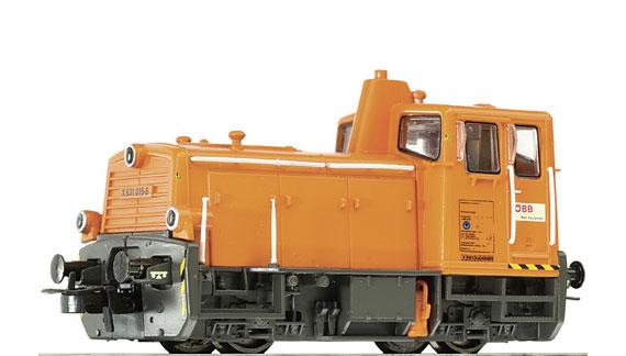 HS Liliput L132480 Diesellokomotive   Reihe 2060 der ÖBB grün