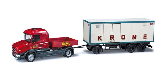 herpa 301657 scania hauber circus krone zirkus zubeh r. Black Bedroom Furniture Sets. Home Design Ideas