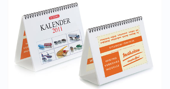 wiking 000711 kalender 2011 neutral modellbahn katalog. Black Bedroom Furniture Sets. Home Design Ideas