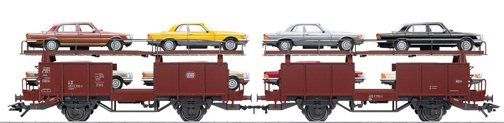 Trix 24333 laaes 541 autotransportwagen h0 modellbahn katalog