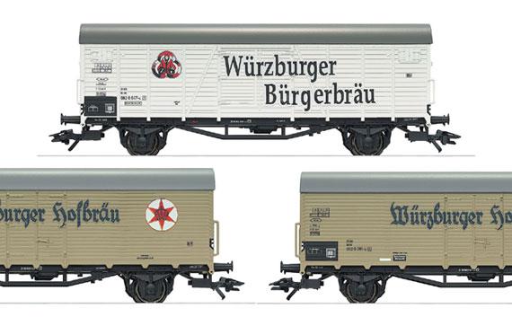 Trix 24416 Bierwagen Set Würzburger Hofbräu