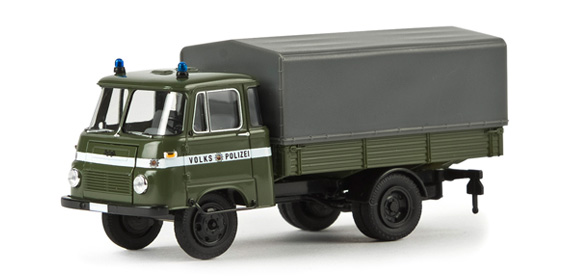 brekina 30609 robur lo 2501 polizeifahrzeuge h0 modellbahn. Black Bedroom Furniture Sets. Home Design Ideas